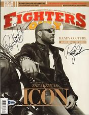 Randy Couture Signed 2011 Fighters Only Magazine BAS Beckett COA UFC Autograph