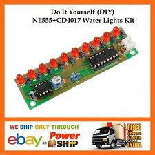 E59 DIY NE555 CD4017 Electronic LED Running Water Lights Do it Yourself Kit