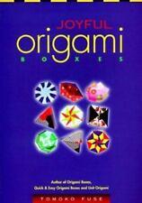 Joyful Origami Boxes, Tomoko Fuse, Good Book