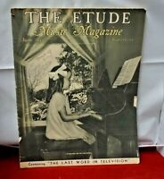 June 1937 The Etude Music Magazine (#366/.50)