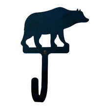 Large Bear Organizational Coat Towel Tack Hook Cabin Lodge Home Decor