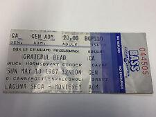 Grateful Dead Ticket Stub 5/10/87