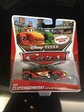 Disney Pixar Cars Rip Clutchgoneski with Metallic Finish