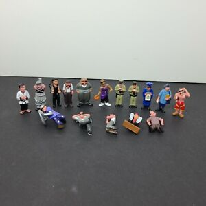 Lil Homies Mini Action Figure Toy Lot Collection Mijos VTG Cop Basketball Karate