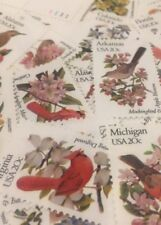 20  State Bird Stamps For Holiday, Wedding And Valentine Mail