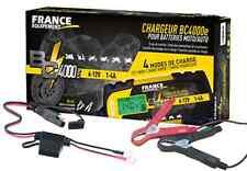 Chargeur de batterie FRANCE EQUIPEMENT BC 4000 E 6/12V pinces crocodile cosses