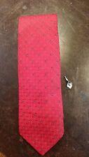 Surrey Red Black Dot Executive Designer Mens Necktie Free Shipping