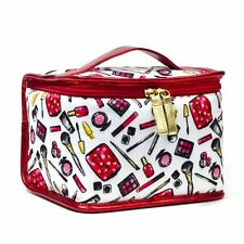 LONDON SOHO NEW YORK Disney Collection Minnie Mouse Cosmetic Train Case Bag