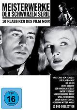 10 Film Noir Classics MASTERPIECES DER SCHWARZEN SERIES Eerie Gast DVD Box