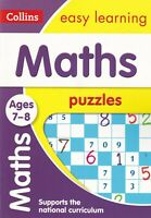 Maths Puzzles Ages 7-8: brilliant puzzles for mathematical minds Key Stage 2