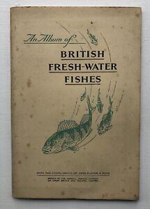 Cigarette Cards - British Fresh-Water Fishes (John Player) - Full Set In Album