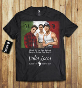 Vatos Locos T-Shirt Blood In Blood Out limited edition rare collection La Onda