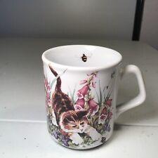 crownford preowned cat mug coffee tea cup