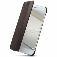 Huawei Flip Smart View Case for P10 - Brown - NEW & GENUINE - SLEEP WAKE COVER