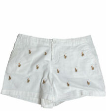 Ralph Lauren girls Embroidered pony prepster shorts size 16