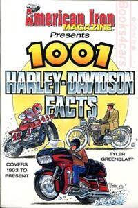 1001 FACTS HARLEY DAVIDSON BOOK GREENBLATT 1,001 1000 1,000 TYLER