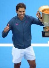 Nike Rafa Nadal Abu-Dhabi 2016 Premier Tenis Chaqueta Tamaño Pequeño