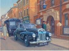 Wolseley 6 80 Police Car Policeman 1960s Blank Birthday Fathers Day Card