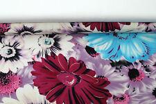 (EUR 16,90/m) Viskose-Jersey Stoffpaket Pink Türkis 2x0,50m=1,00m (Art 332)