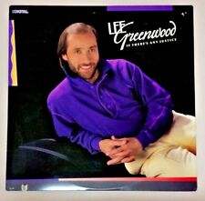 LOT 2 albums Lee Greenwood If There's Any Justice, Love Will Find Its Way To You