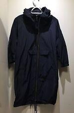 MARNI at H&M Long Navy Jacket size US 2/CA 2/ EU 32