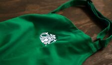 NEW Starbucks Coffee Barista Apron with Embroidered Logo.