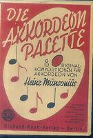 Heinz Munsonius : Die Akkordeon Palette