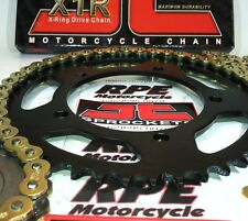 KAWASAKI EX500 NINJA '87/09 CHAIN AND SPROCKET KIT {OEM or CUSTOM}