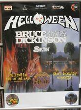 Helloween / Bruce Dickinson / Skin 60cm X 85cm (approximately) Poster