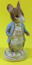 Beswick Beatrix Potter Johnny Town Mouse with BP-2a Gold Oval Mark