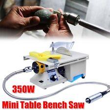 350W Mini Precision Bench Table Saw Blade DIY Woodworking Cutting Machine 220V