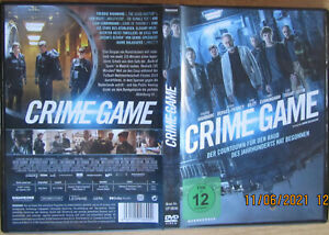 CRIME GAME * DVD * JEAN RENO * SAM RILEY * LIAM CUNNINGHAM * NEUHEIT 11.06.2021