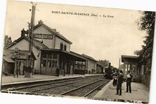 CPA PONT-SAINTE-MAXENCE - La Gare (211313)