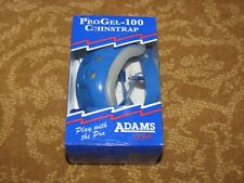 Adams Pro-Gel 100 Adult Royal Blue Chinstrap (Lot of 12), New