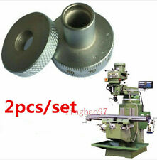2pcsset Milling Machine Parts Metal Screw Feed Dial Scale Ring For Bridgeport