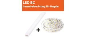 LED-Beleuchtung für Regale BED CONCEPT LENART
