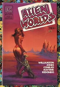 Alien Worlds #1 Comic Bruce Jones, Al Williamson, Val Mayerik