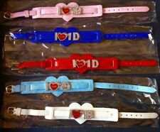 Lotto 5 bracciali cuore e glitter One Direction