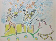 """ROBERTO MATTA 1971 """"Les annales du son""""  HAND SIGNED CHILE"""