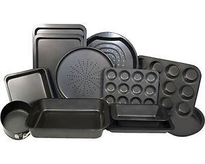 Non Stick Carbon Steel Oven Baking Cake Roasting Bakeware Trays