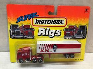 VINTAGE 1994 MATCHBOX SUPER RIGS  KENTUCKY FRIED CHICKEN TRACTOR TRAILER  SEALED