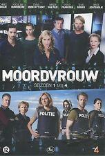 Moordvrouw seizoen 1 - 4 (12 DVD)