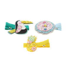 3pcs Lovely Animals Fruits Kid's Hairpins Hair Clips Barrettes For Baby Girl