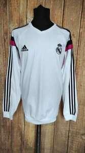 Real Madrid CF Adidas Training Sweatshirt 2014 Jersey Football Soccer Sz XL