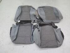 2013-2017 Dodge Ram Crew Ft & Rear OEM cloth seat cover set Diesel Gray