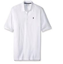 IZOD Men's Short Sleeve Advantage Polo Shirt, Bright White, Size XL
