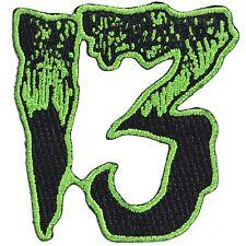 Kreepsville 666 Unlucky 13 Iron On Patch Punk Rockabilly Gothic Horror