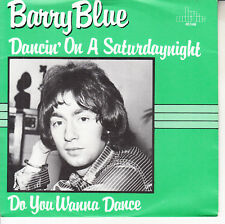 """BARRY BLUE Dancin' On A Saturday Night PICTURE SLEEVE 7"""" 45 rpm vinyl record NEW"""