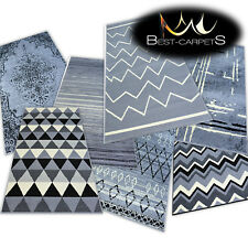 AMAZING THICK MODERN RUGS BASE GREY 20 Pattern LARGE SIZE BEST-CARPETS