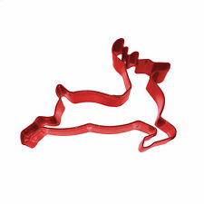 Eddingtons Red Reindeer Cookie Cutter - Christmas Pastry & Biscuit Cutter - 8cm